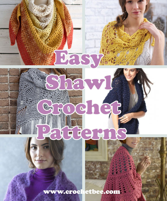 Easy Shawl Crochet Patterns Free Easy And Quick Crochet Patterns