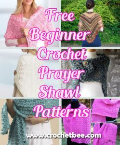 Free Beginner Crochet Prayer Shawl Patterns Crochet Bee