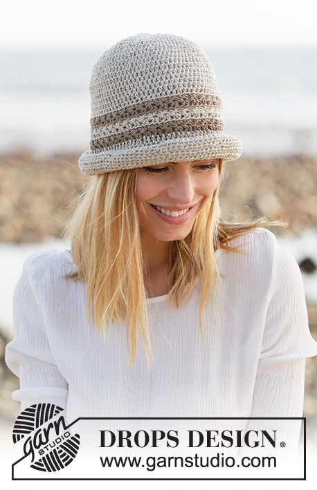 Free knit pattern for a summer hat for women
